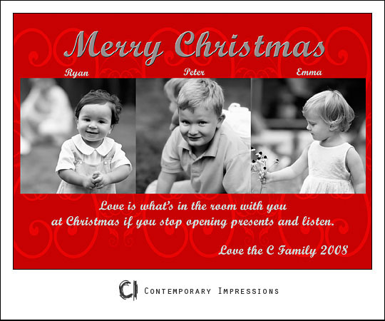 C christmas card2blog